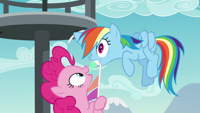 File:Pinkie pulls Rainbow Dash closer S5E24.png