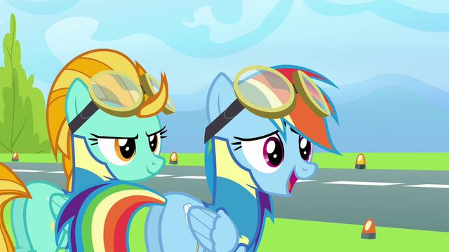 File:Rainbow 'No pony even came close to six seconds' S3E07.png