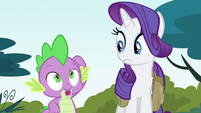 Spike remembers the last part of the spell S4E23