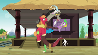 "Discord ""you get to bask in my greatness"" S6E17"