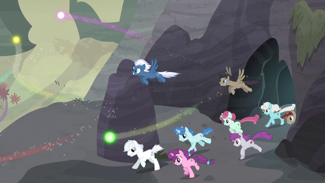 File:Village ponies gallop out of the cave S5E2.png