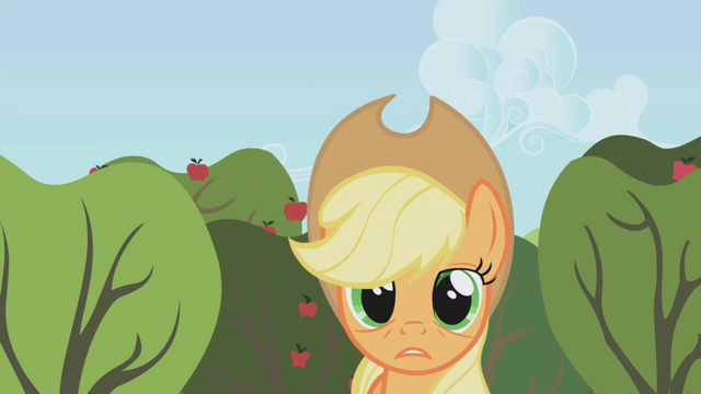 "File:Applejack ""I'm on my own"" S1E04.png"