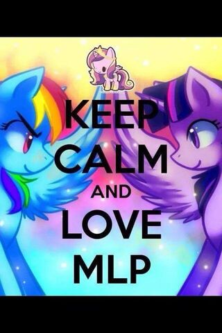 File:FANMADE Keep Calm and Love MLP.jpg