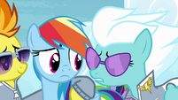 """Fleetfoot """"you won't be able to fly for Ponyville"""" S4E10"""