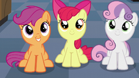 The Cutie Mark Crusaders watch S6E4