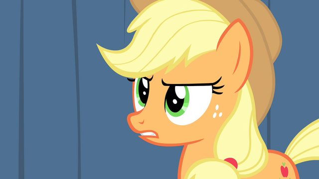 "File:Applejack ""You two charlatans"" S4E20.png"