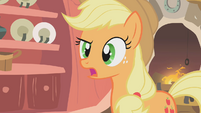 Applejack wide-mouthed S01E08