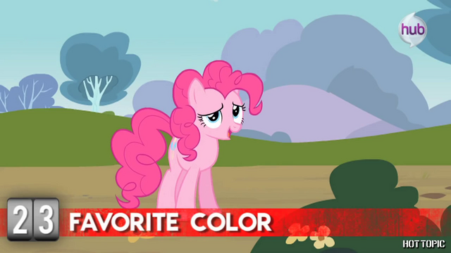"File:Hot Minute with Pinkie Pie ""is this a trick question?"".png"