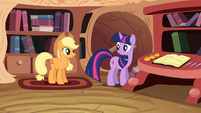 Applejack and Twilight S03E09