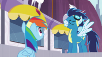 Rainbow hears Soarin S5E15