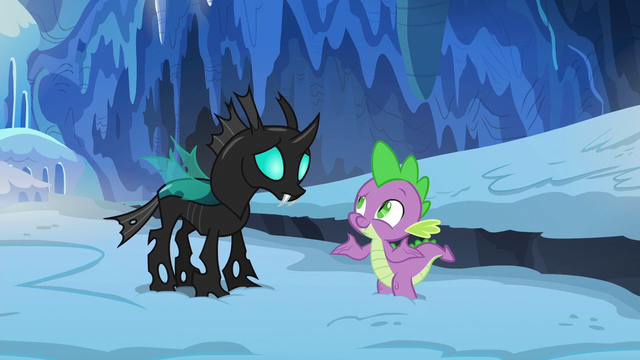 "File:Spike ""hasn't anypony ever just been nice"" S6E16.png"