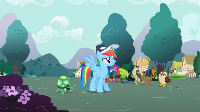 "File:Rainbow Dash ""Now these games"" S2E07.png"