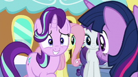 "Starlight nervous ""uh-huh"" S6E1"