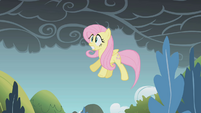 Fluttershy about to fall S01E07