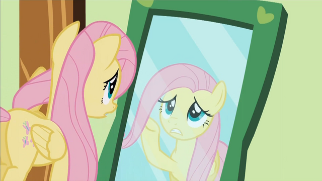 File:Fluttershy in front of a mirror S01E22.png