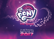 MLP The Movie logo - Hasbro Brands 2016 Webcast
