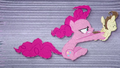 Pinkie hangs onto Pound Cake as he flies BFHHS2.png