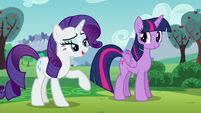"Rarity putting emphasis on the word ""artistes"" S5E24"