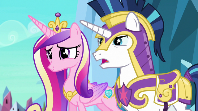 "File:Shining Armor ""we can explain, Twily"" S6E16.png"