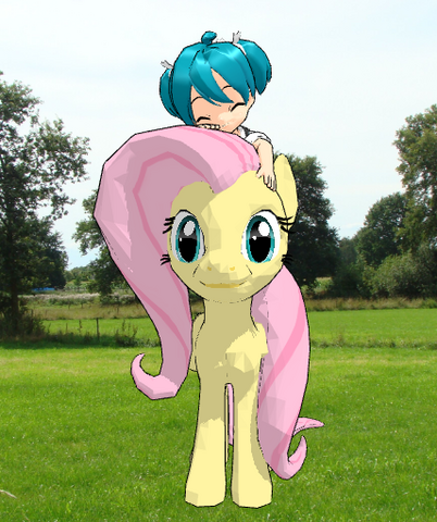File:FANMADE Fluttershy Baby Miku.png