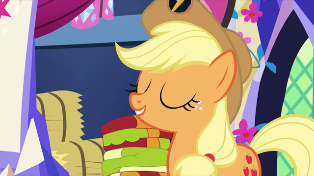 "File:Applejack ""nope, just old!"" S5E3.png"