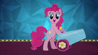 Pinkie Pie with her party cannon BFHHS5