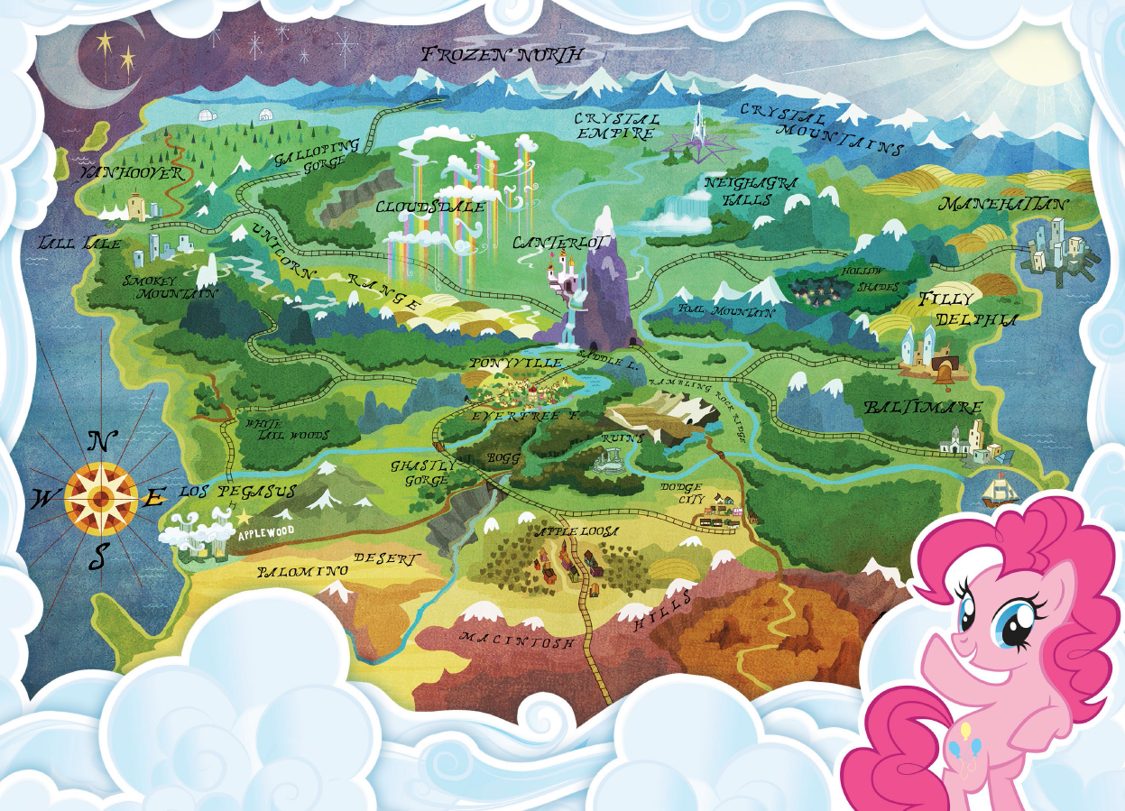 My little pony map my blog 2017 sciox Choice Image