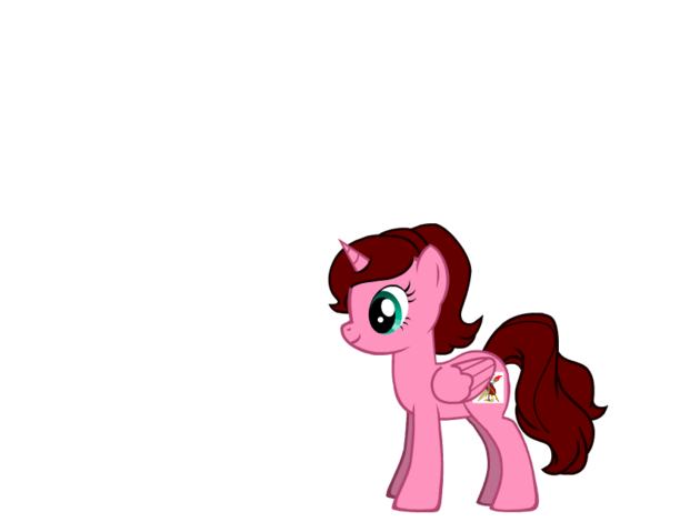 File:FANMADE Alicorn Amelia With Corrected Hair.png
