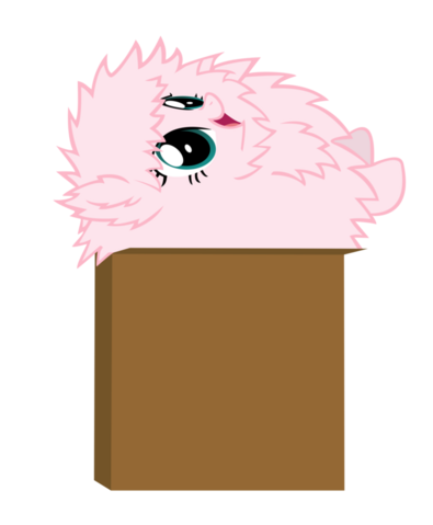 File:FANMADE Fluffle Puff in box.png