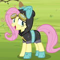Fluttershy dangerous mission outfit ID S3E5.png