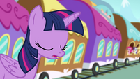 Twilight sighing S4E01