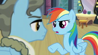 "Rainbow ""That's not what being a Wonderbolt is about"" S5E15"