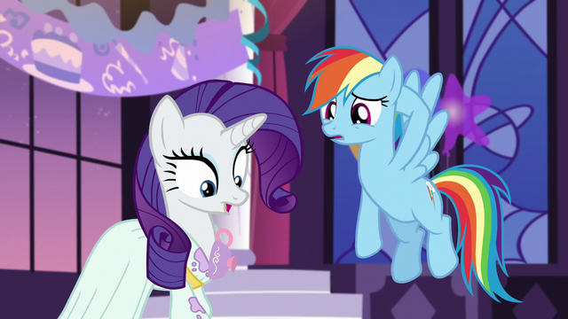 File:Rarity's dress got spilled onto S5E15.png