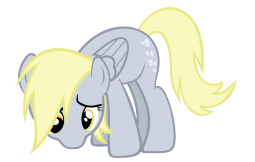 FANMADE Derpy - Sad by Ocarina0FTimelord