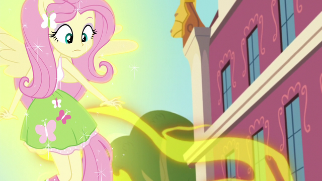 File:Fluttershy's magic getting drained EG3.png