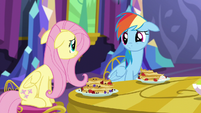 Fluttershy and Rainbow Dash concerned S5E3
