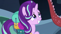 Starlight Glimmer with embarrassed pride S6E26