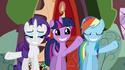 Rainbow Dash eye marks error S02E21