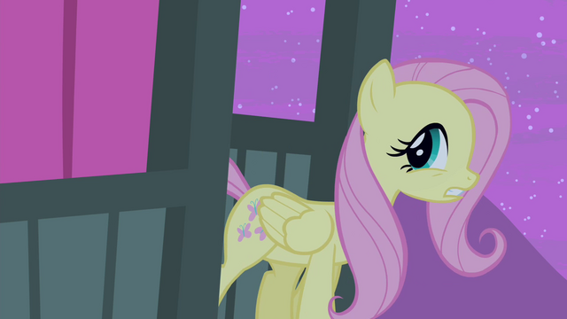 File:Fluttershy about to leave S4E14.png