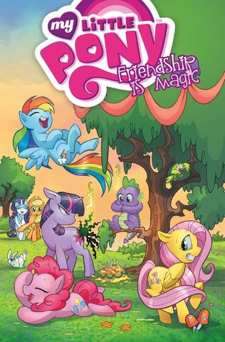 File:IDW My Little Pony Trade Paperback Volume 1 Cover.jpg