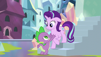 Spike stops Starlight from leaving S6E1