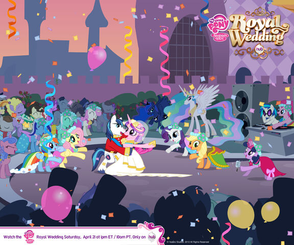 File:Canterlot Wedding Wallpaper 3.jpg