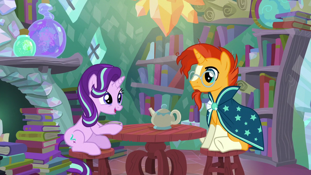 "File:Starlight Glimmer ""weird, right?"" S6E1.png"