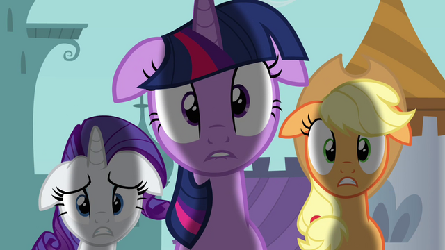 File:Twilight Applejack Rarity not good S02E26.png