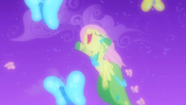 File:Fluttershy flying with butterflies S1E26.png