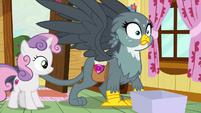 Gabby's eyes widen with realization S6E19