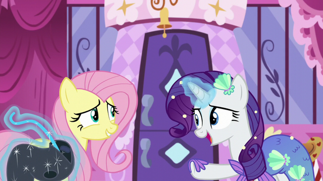 "File:Rarity ""we do want you to be comfortable"" S5E21.png"