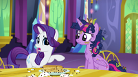 "Rarity ""we worry you might be"" S5E3"