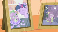 Twilight and baby Spike photo S2E21