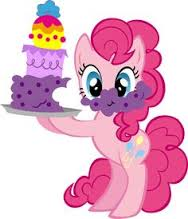 File:FANMADE Pinkie Pie and birthday cake.jpg